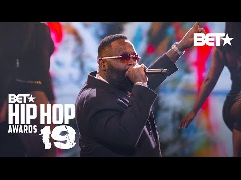 Dre - Rick Ross & T-Pain Rock At The BET Hip-Hop Awards!