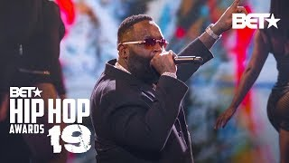 Download Rick Ross & T-Pain Hit Stage To Perform Maybach Music, Boss & More! | Hip Hop Awards '19 Mp3 and Videos