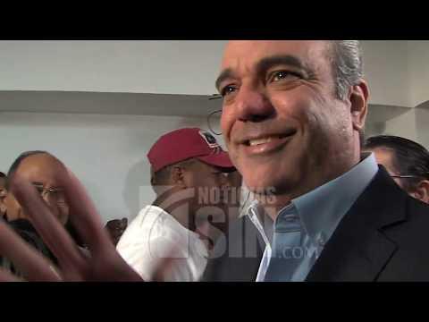 """Luis Abinader: """"El presidente Medina le ha devuelto al país el estado de tranquilidad"""""""