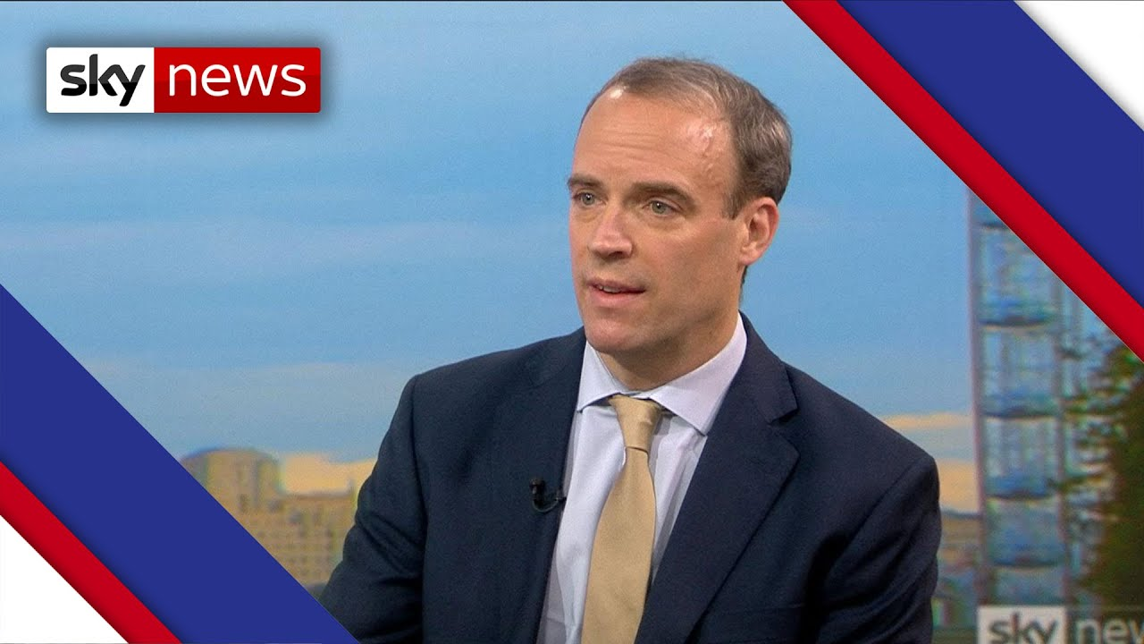 Dominic Raab explains the ILLOGICAL logic behind tier system