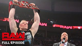 WWE Raw Full Episode, 21 January 2019