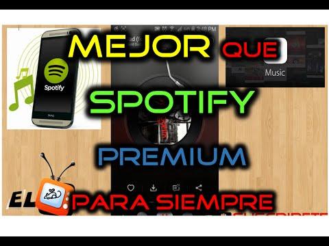Mejor que Spotify Premium GRATIS para Siempre 2015 - El mejor Reproductor MP3 Android