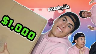 Abriendo $1,000 MYSTERY BOX From Poshmark!!   Louie