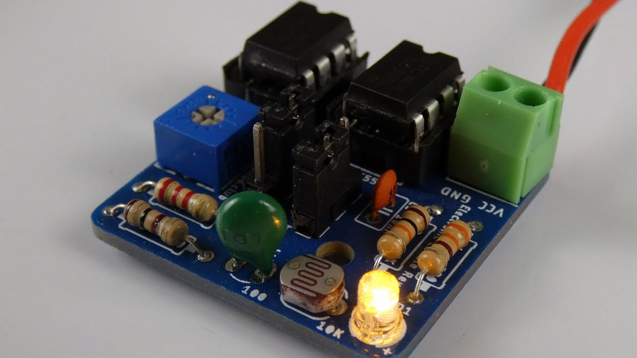 555 Timer Electronic Roulette Wheel Circuit And Explanation Diagram