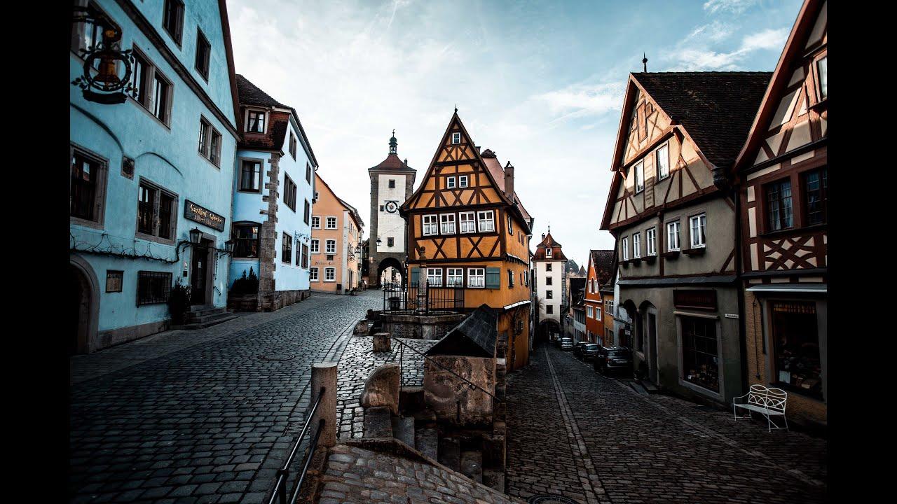 A Walk Through Rothenburg ob der Tauber