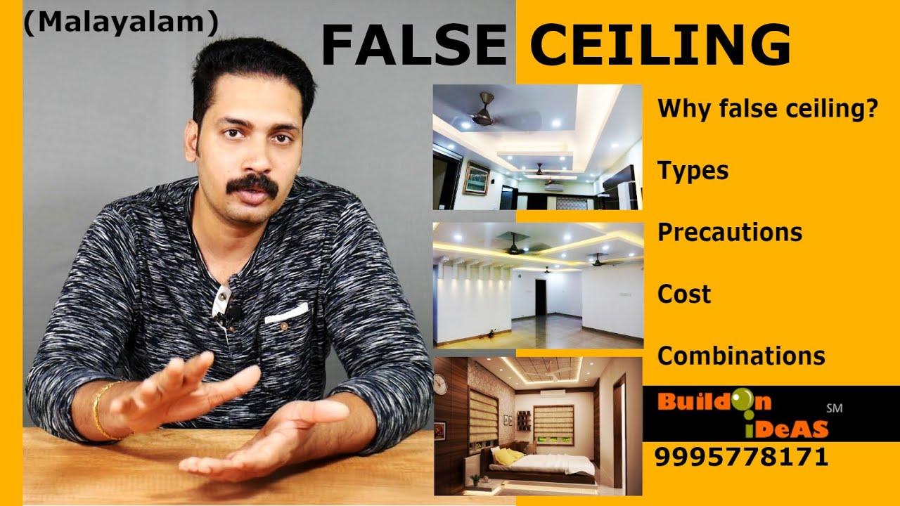 Economical False Ceiling Materials | Methods | Types | Precautions | Cost