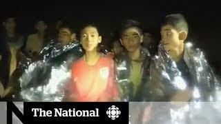 Thai soccer team rescue: Who's out and who's still trapped