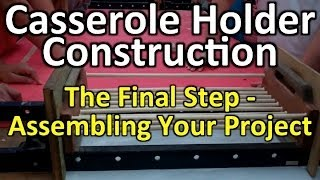 Casserole Holder - Step 22