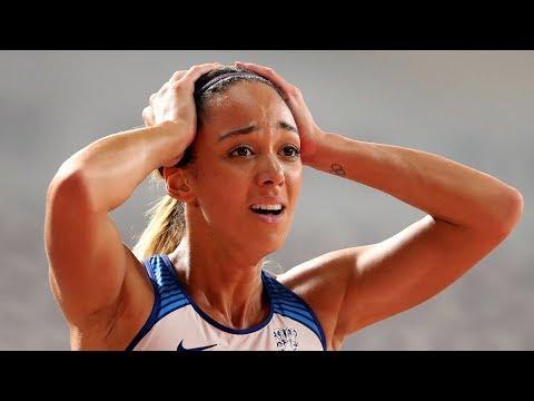 Katarina Johnson-Thompson takes world heptathlon gold and breaks Jessica Ennis-Hill's British record