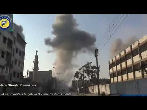 Syria War 2017 Battle for Raqqa: Kurdish YPG vesves SDF Forces in Urban Fighting And Firefights