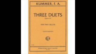 Kummer Cello Duet Op 22 No 1 C Major 3rd Movement