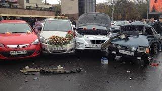Аварии на свадьбах ДТП 2018