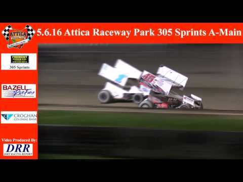 5.6.16 Attica Raceway Park 305 Sprints A-Main