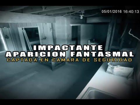 Impresionante Fantasma Captado por Camara de Seguridad l Pasillo Infinito Documentos