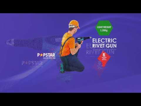 Popstar Electric Rivet Gun
