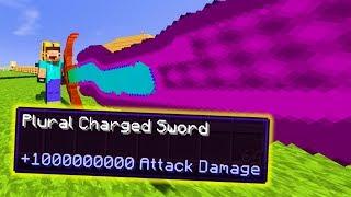 UNENDLICH DAMAGE SCHWERT! - Minecraft LUCKY BLOCK BATTLE | Tom Shuffle