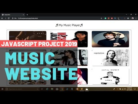 Create A Music Player App In JavaScript With Project Code In Hindi