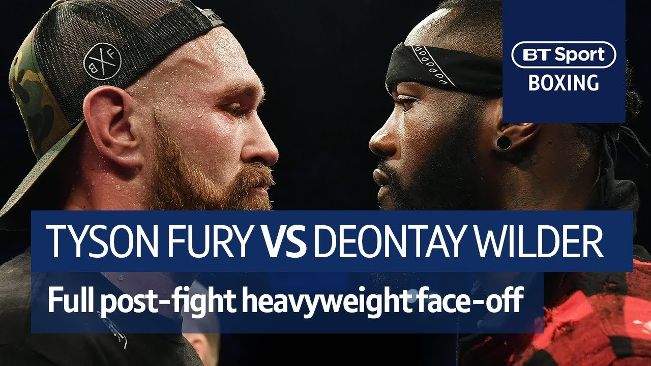 Download IT'S ON! Tyson Fury and Deontay Wilder FULL post-fight confrontation at Windsor Park