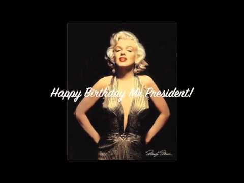 Marilyn Monroe Happy Birthday Greeting!!