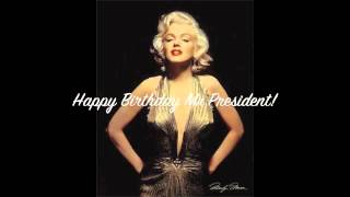 Marilyn Monroe Happy Birthday Greeting Youtube