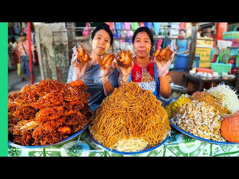 Myanmar's Unseen Street Food!! Hidden Gem of Southeast Asia!!