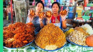 Myanmar's Unseen Street Food!! Hidden Gem Of Southeast Asia!!