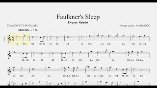 Avgeny Grinko - Faulkner's Sleep Resimi