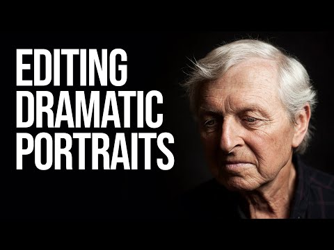 How to Edit Dramatic Portraits in Photoshop