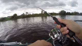 Рыбалка на судака и окуня осенью. Ловля судака на джиг с лодки в сентябре.