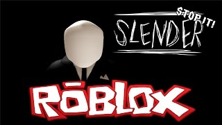 STOP IT SLENDER! 2 /w Dunisme&Hitzeed | Roblox Indonesia