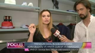 Vara 2017: Tendinte in moda pentru barbati, cu Adina Buzatu