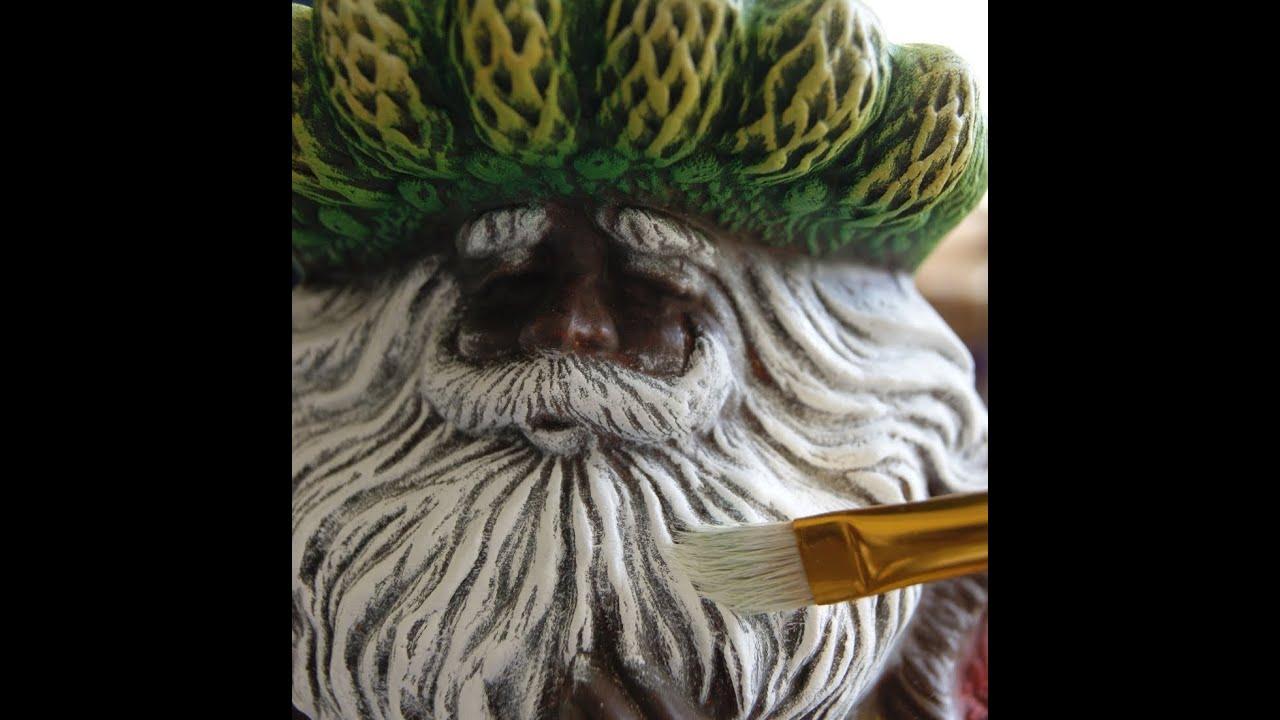 Como pintar espiritu de navidad de ceramica youtube - Microesferas ceramicas para pintura ...
