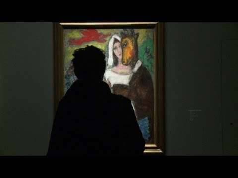 Chagall show opens in Paris