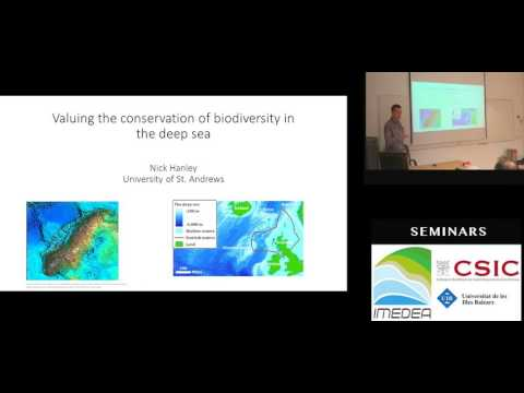 Valuing the conservation of biodiversity in the deep sea