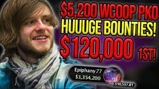 $5200 PSKO WCOOP DEEP RUN! (PART 1)