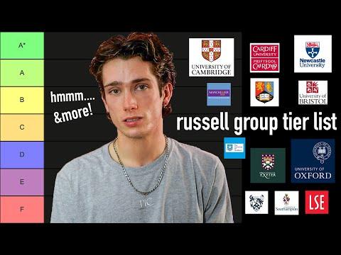 University Tier List UK (In my opinion...)