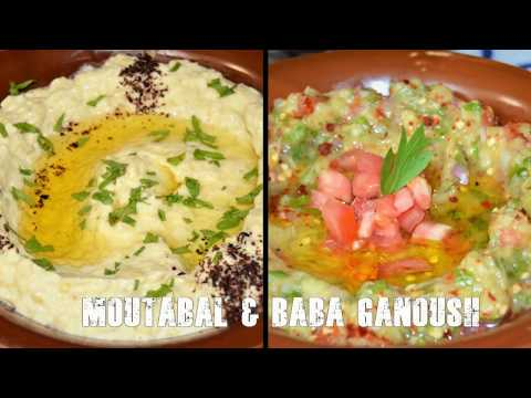 Moutabal And Baba Ganoush/Chef Ahmad's Kitchen