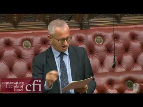 Lord Polak explains importance of Balfour Declaration to Jewish community