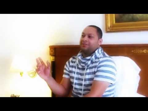 Dj VIRUS player of KIZOMBA NATION, interview after Anselmo Ralph concert, Geneve.