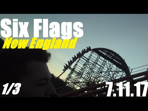 Six Flags New England Vlog - 7.11.17 (Part 1/3)