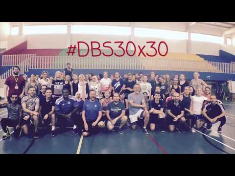 The #DBS30x30 Dubai Fitness Challenge staff launch event