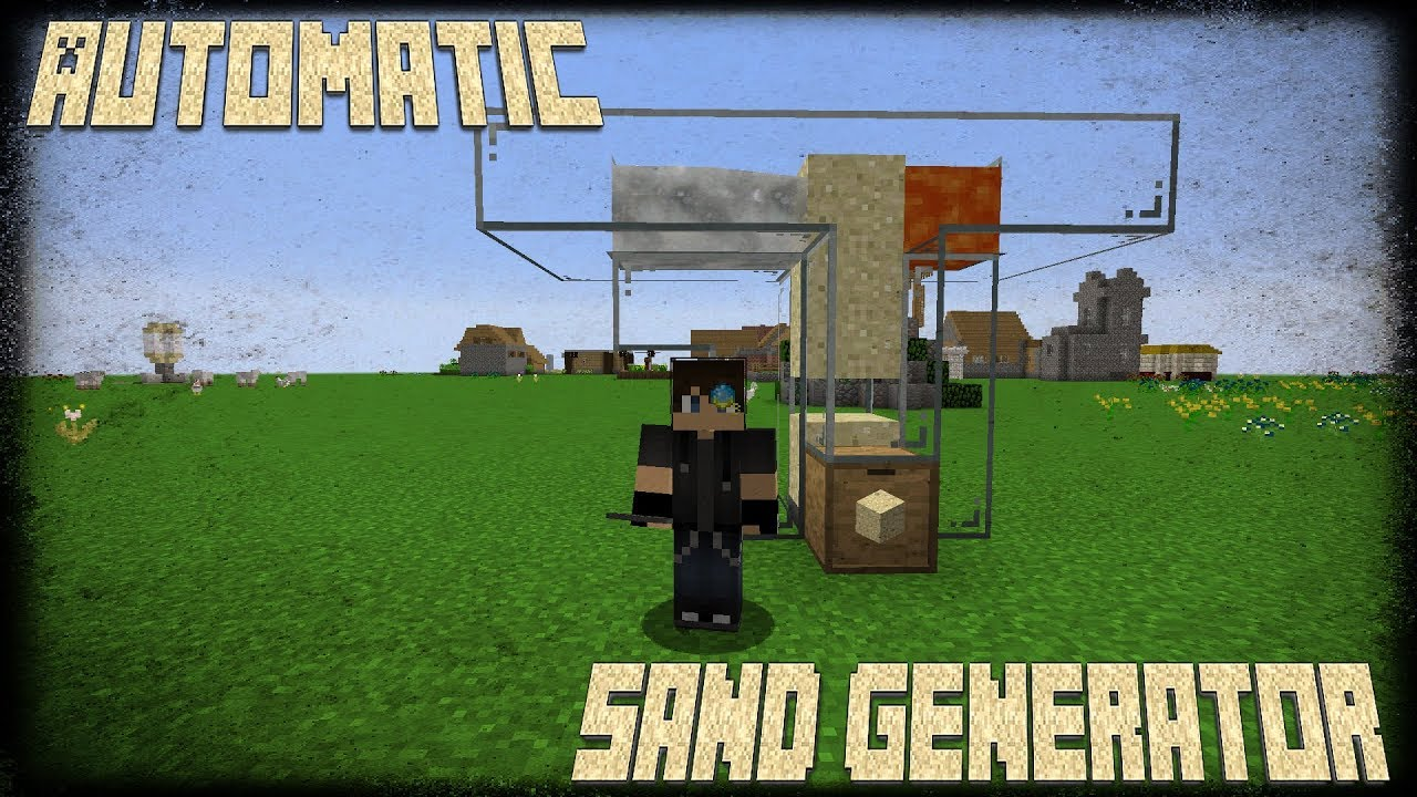 How to make a sand generator 66
