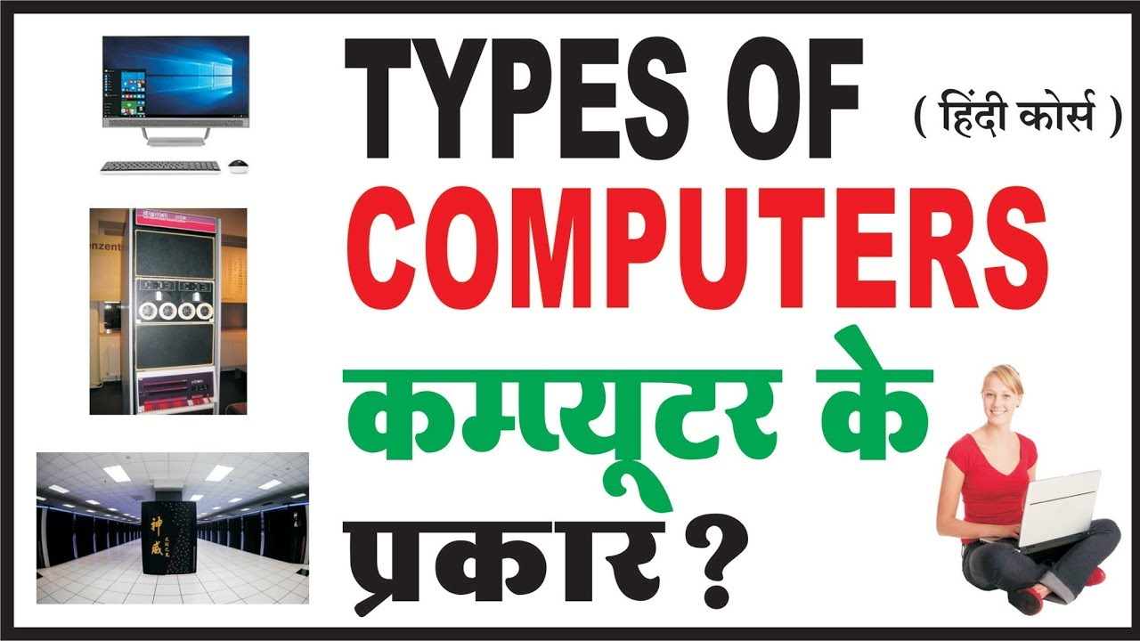 Types of Computer in Hindi - YouTube