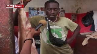 Les bouchers de Dakar se confient Regardez