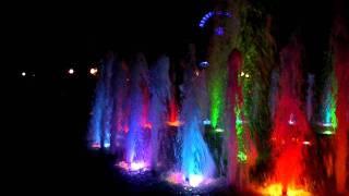 Фонтан с подсветкой. Усинск.(, 2011-07-09T12:34:28.000Z)