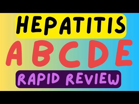 HEPATITIS - ALL 5 FORMS OF VIRAL HEPATITIS [ RAPID REVIEW ]