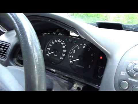 How to fix tachometer error dashboard Toyota Corolla Years 1995