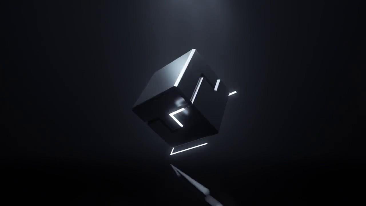024-3D Cube logo Reveal
