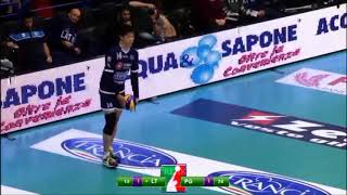 【VOLLEYBALL】【SERIE A1】チーム最多の18得点・石川祐希【HIGHLIGHT】