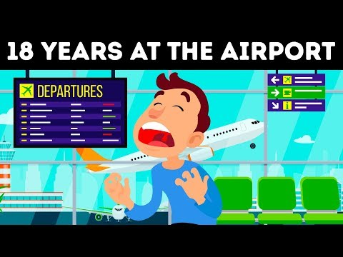 The Man Who Spent 18 Years at the Airport, a True Story